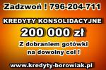kredytY KONSOLIDACYJNE/ GOTÓWKOWE – jedna NISKA rata,zamiast kilku!Cała Polska!